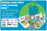 trousse naissance gratuite auchan