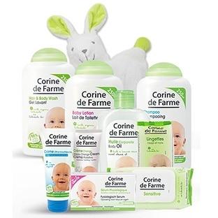 Corine de Farme : Échantillons gratuits de 3 soins bébé