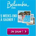 jeu concours Belambra