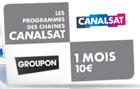 Carte Canal + ou CanalSat pendant 1 mois à 10€