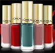 échantillon test vernis color riche de L'Oréal Paris