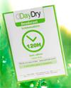 échantillon test Deodorant 120H lingettes