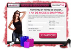 Gagnez 1 an de mode & shopping