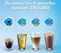 Echantillons gratuits de boissons Tassimo