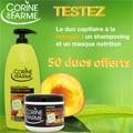 échantillons tests produits Corine de Farme