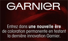 Echantillon test coloration Garnier