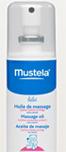 échantillon test huile de massage Mustela