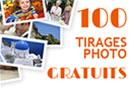 100 tirages photo gratuits