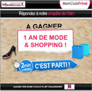 Gagnez un an de mode & shopping