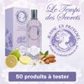 échantillon test du parfum de Jeanne en Provence