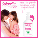 échantillon test Saforelle Miss pour la toilette des petites filles.