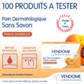 échantillon test Pain Dermatologique Sans Savon
