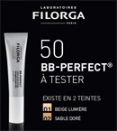 échantillon test BB-Perfect des Laboratoires Filorga