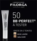 échantillon test BB-Perfect des Laboratoires Filorga