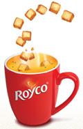 échantillons soupes royco