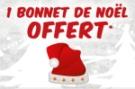 Bonnet de Noël offert !