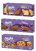 échantillons tests biscuits Milka