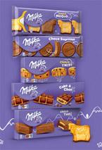échantillons tests gâteaux Milka
