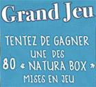 """Grand Jeu pour gagner des """"Natura Box"""""""