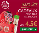 bon de réduction The Body Shop