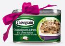 Boite gratuite de champignons de Paris Cassegrain