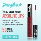 échantillon test gloss Douglas
