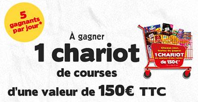 150€ de courses gratuites à gagner