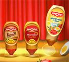 échantillons tests de Mayonnaise de Dijon Amora