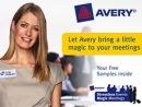Echantillons gratuits Avery