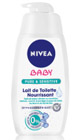 échantillon test lait de toilette Nivea Baby