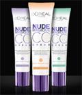 échantillon test de la crème CC Cream Nude Magique de L'Oréal Paris