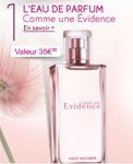 Cadeau gratuit Yves Rocher