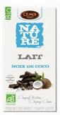 échantillon test de Chocolat Lait-Coco Cémoi