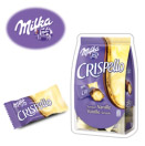 échantillon Milka Crispello saveur vanille
