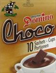 échantillon test de chocolat en poudre Domino Choco