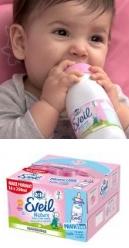 échantillon test de lait Eveil de Lactel avec TRND