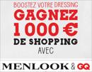 Gagnez 1000€ de shopping avec Menlook