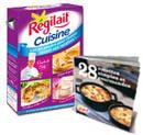 50 boites de Régilait et un livre de recettes à gagner
