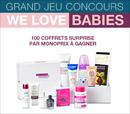 gagnez 100 coffrets surprise pour bébé
