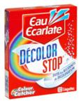 échantillon test de lingette Décolor Stop