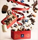 200 ballotins de chocolats Leonidas