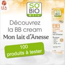 échantillons tests de BB cream SO'BIO étic