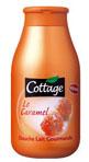 échantillon test de gel douche Cottage au caramel