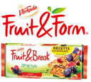 échantillon test de biscuits Fruit & Form fruits rouges