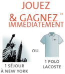 Concours Lacoste