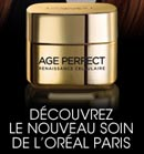 Echantillon gratuit anti-âge de L'Oréal Paris