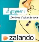 Bons d'achat Zalando à gagner