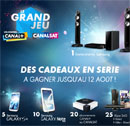 Concours Canal+ CanalSat