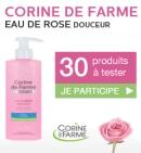 Testez l'Eau de rose Douceur de Corine de Farme