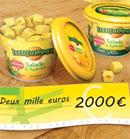 Chèque de 2000€ et 1 an de Leerdammer